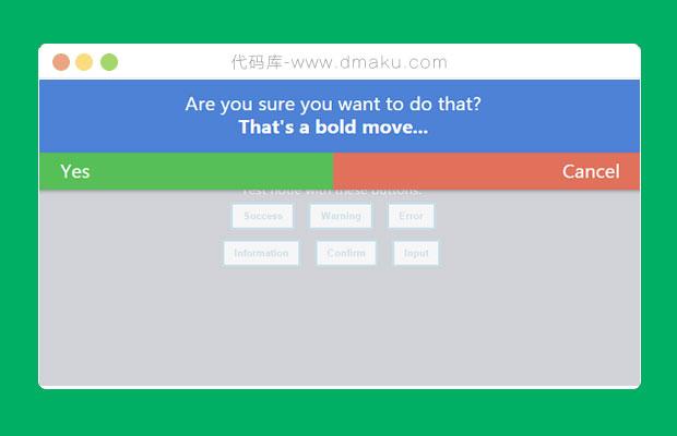 jQuery個性化消息提示彈出層html頂部提示插件
