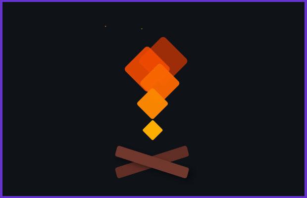 CSS3火柴燃燒Loading加載動畫