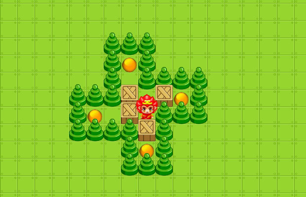 HTML5推箱子小游戏代码