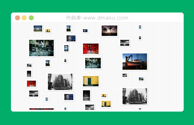 jquery照片墙图片效果图片相册