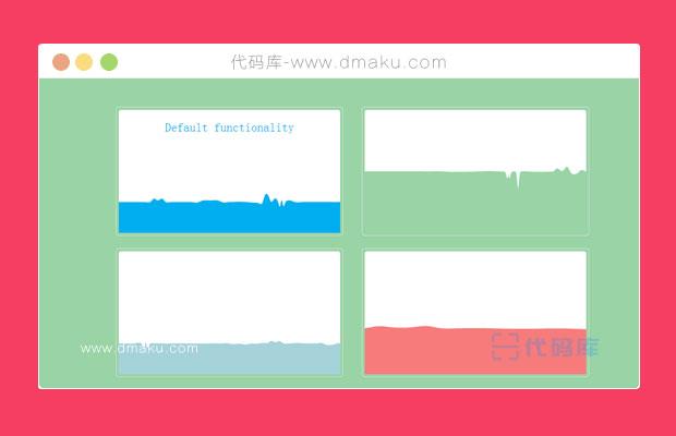 jQuery水纹波动动画效果代码