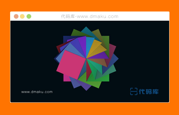 jquery折纸动画变换效果
