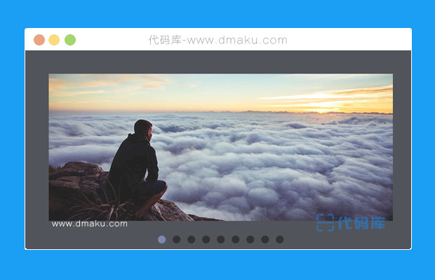 HTML5/SVG运动模糊焦点图动画