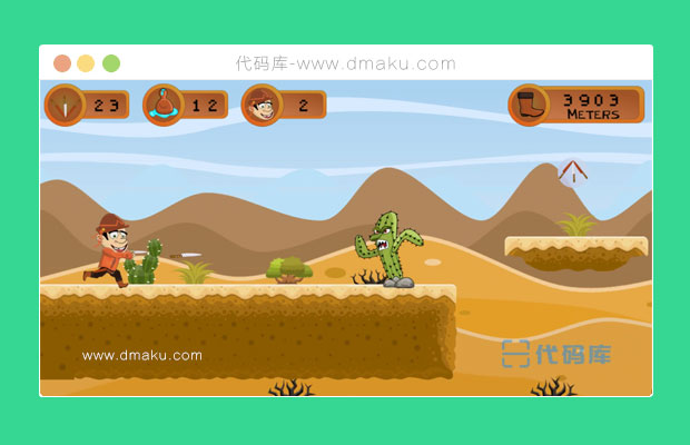 HTML5打怪小游戏源码