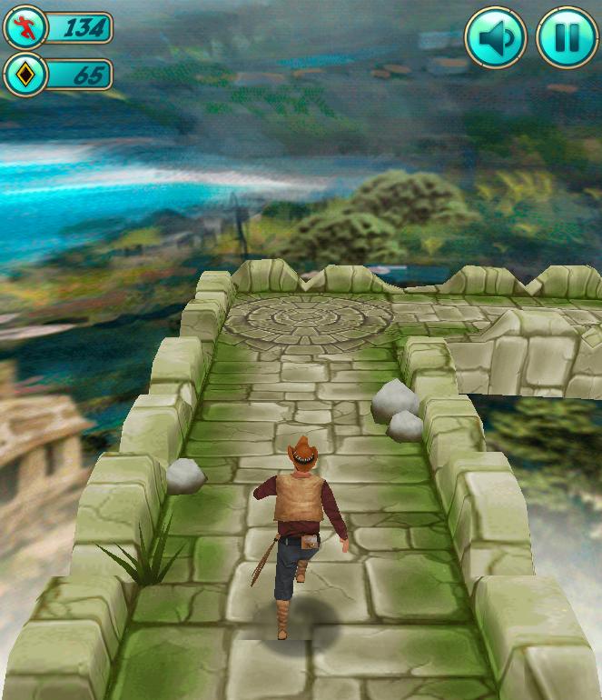 【用户投稿】H5神庙逃亡自适应手机游戏源码