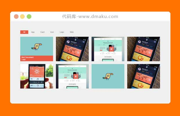 jquery选项卡筛选插件_图片分类无刷新加载