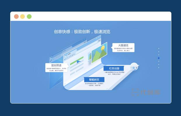 UC浏览器引导网站页面模板